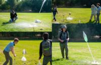 Bottle Rocket Launching